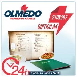 Carta Restaurante A4