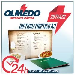 Carta Restaurante A3